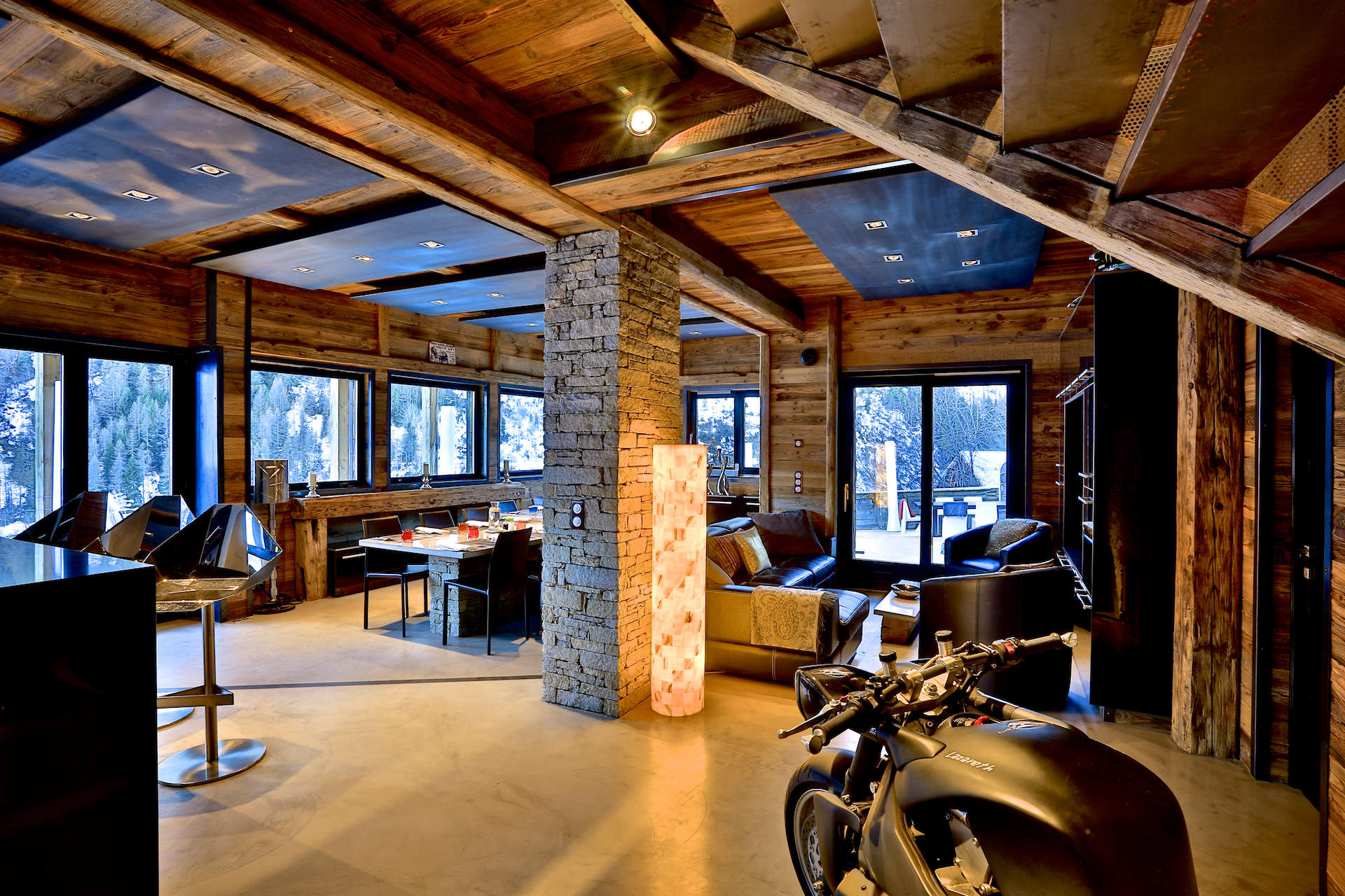 location chalet quezac tignes pour 12 personnes chalets de c ur. Black Bedroom Furniture Sets. Home Design Ideas
